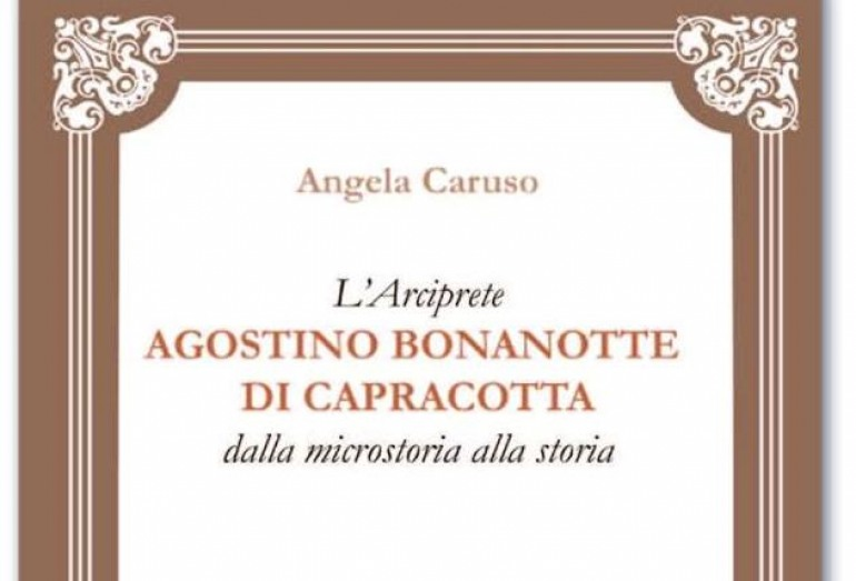 """Capracotta, oggi la presentazione del libro di Angela Caruso """"L'arciprete Agostino Bonanotte"""""""