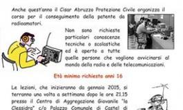 Castel di Sangro, inizia a gennaio il corso per diventare Radioamatore