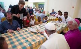 Campobasso, per Papa Francesco solo acqua di rubinetto
