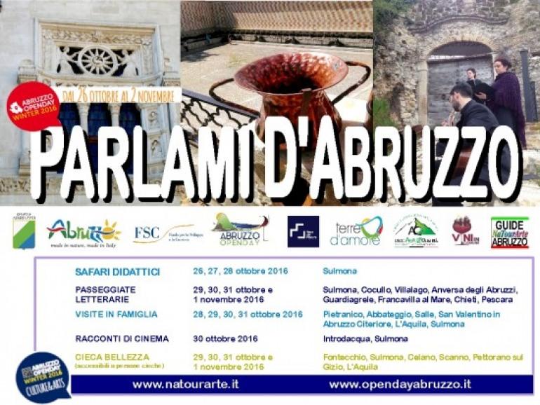 "Tour tra natura e arte con ""Parlami d'Abruzzo"""