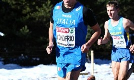 Atletica - Scontrone, Daniele D'Onofrio bandiera italiana agli europei in Bulgaria