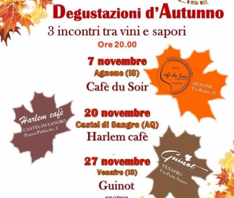 Degustazioni d'autunno a Castel di Sangro con A.I.S. Molise