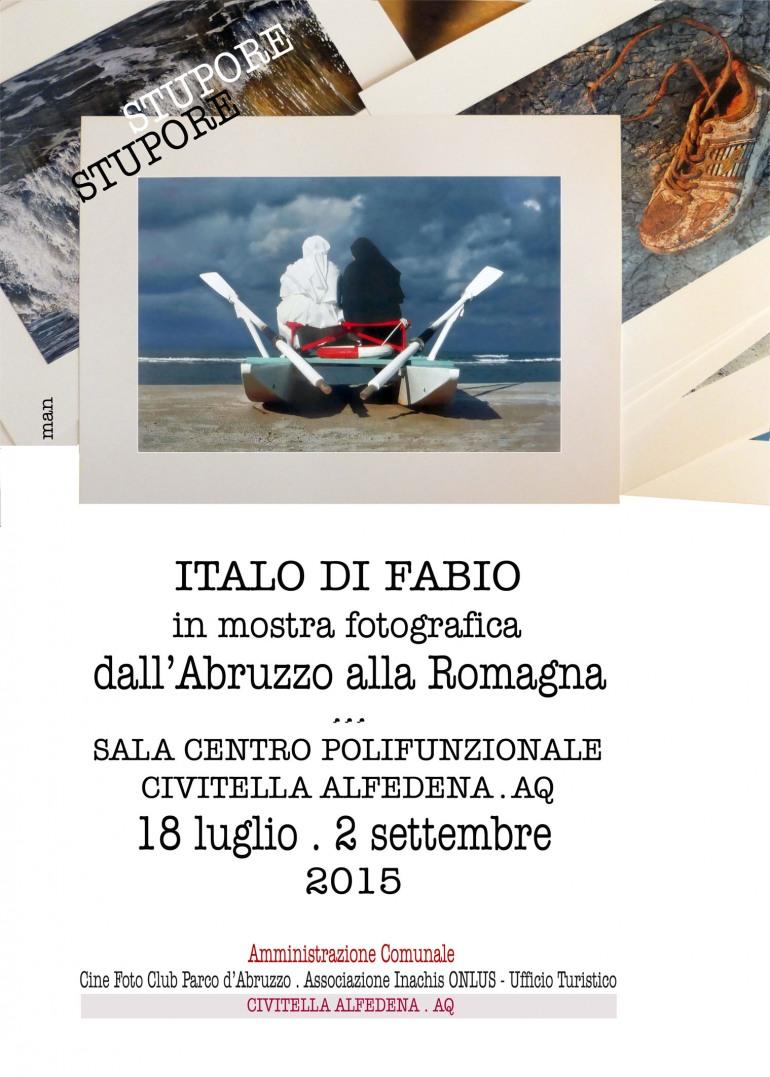 """""""Stupore Stupore"""", la personale di Italo Di Fabio a Civitella Alfedena"""