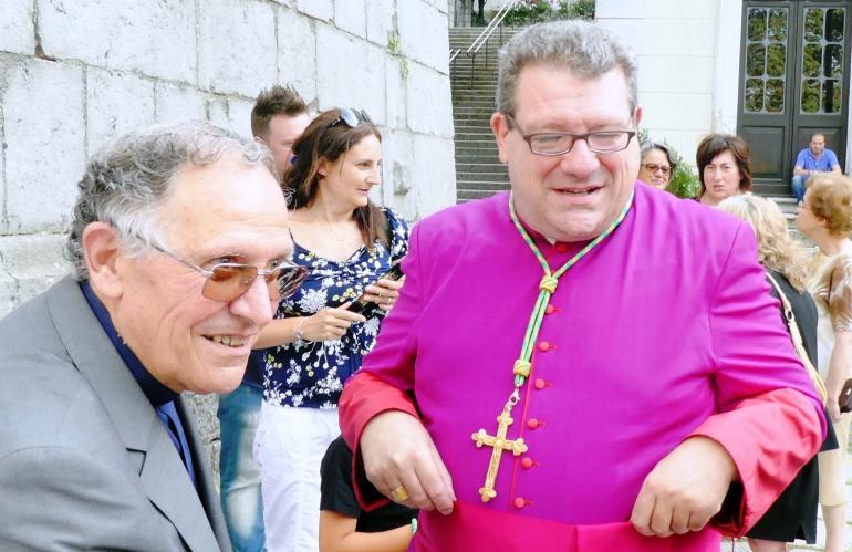 Carovilli, festeggiamenti a don Mario Fangio per il mezzo secolo di sacerdozio