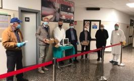 Agnone, arrivano anche dall'Abruzzo le donazioni sanitarie all'ospedale Caracciolo