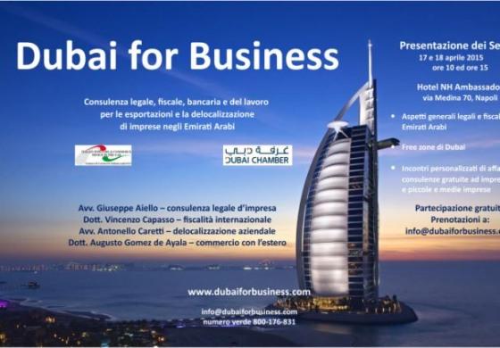 Imprese ed Emirati Arabi, scommessa aperta