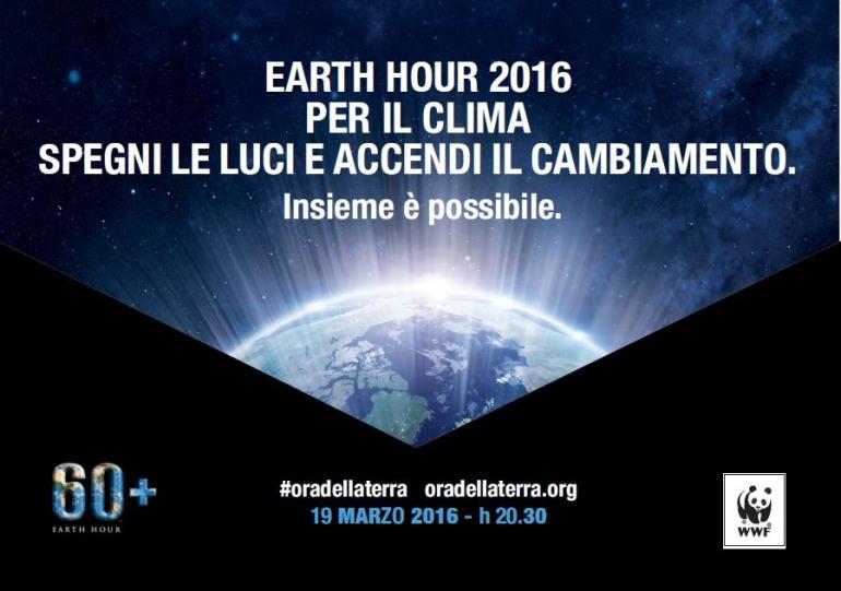 """Wwf Molise rilancia """"earth hour"""": il 19 marzo ore 21.30"""