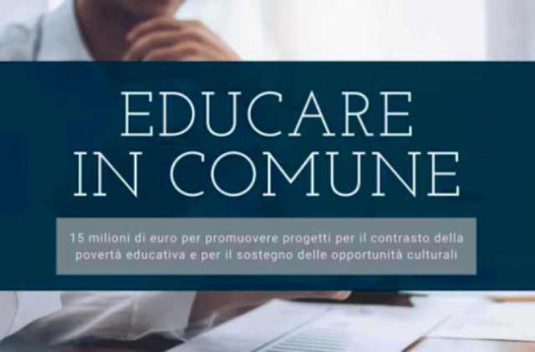 Educare in comune, Castel di Sangro aderisce al bando del Governo