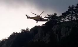 Castel di Sangro, l'elisoccorso del 118 mette in salvo due ragazzini
