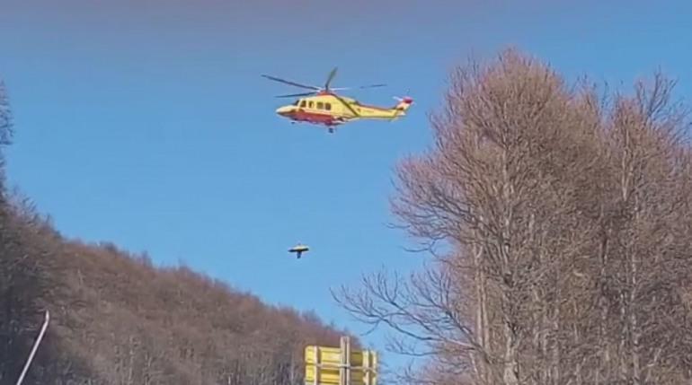 Ateleta: Incidente con il trattore, ragazzo di 26 anni stabilizzato a L'Aquila