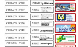 Castel di Sangro, ecco I numeri vincenti della lotteria di Sant'Antonio Abate