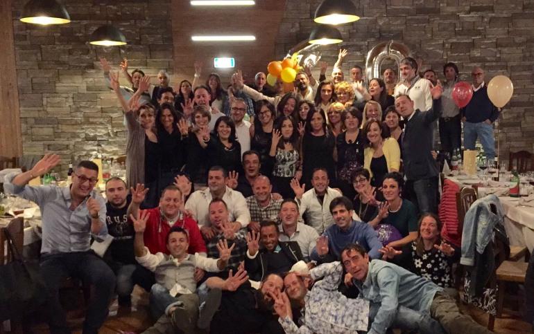 Castel di Sangro, festa di 40 anni: elogio alla bellezza