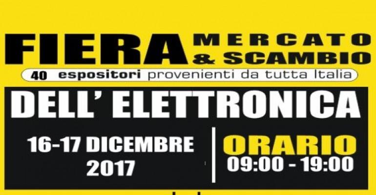 Campobasso, fiera – mercato dell'elettronica a Selvapiana