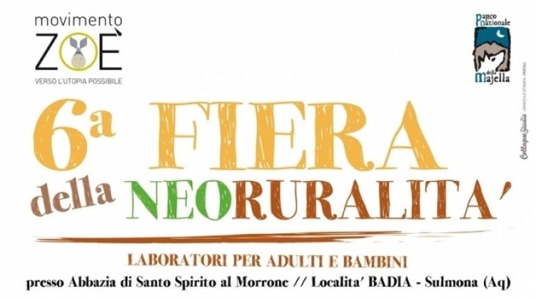 Sulmona, 6^ festa della 'Neoruralità'