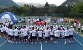 Tennis, taglio del nastro al Centro FIT di Castel di Sangro. Domenica l'inizio del 10° mondiale scolastico