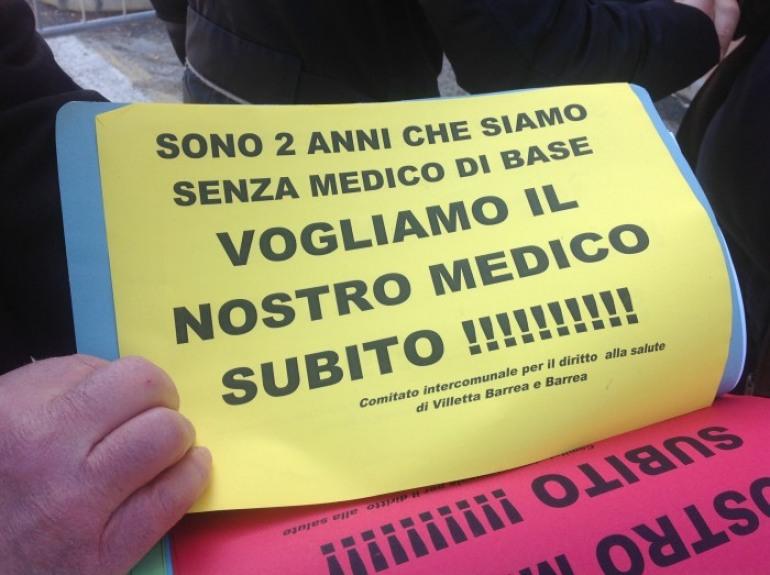 """Barrea: """"Dateci il medico o non voteremo alle regionali"""". L'urlo dei cittadini"""
