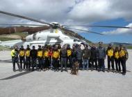 Roccaraso, soccorso alpino: esercitazione Guardia di Finanza