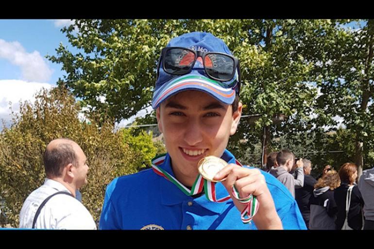 Campionato italiano pesca, Caniglia è il campione under 19