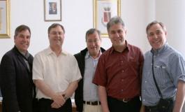 Agnone ospita la delegazione della National Italian American Foundation ed i rappresentanti della famiglia Packard