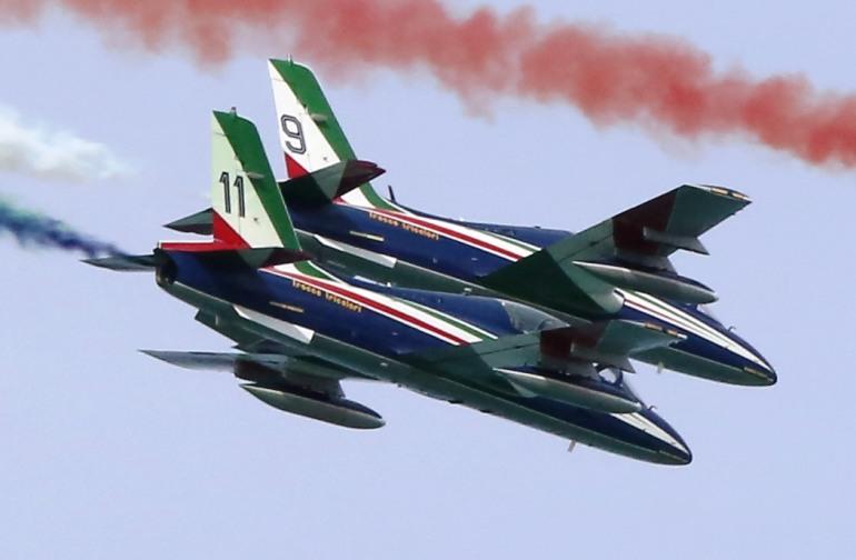Le frecce tricolori sul cielo del Molise: giovedì 28 maggio