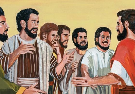 """Gesù disse: """"Se uno mi ama, osserverà la mia parola e il Padre mio lo amerà"""""""