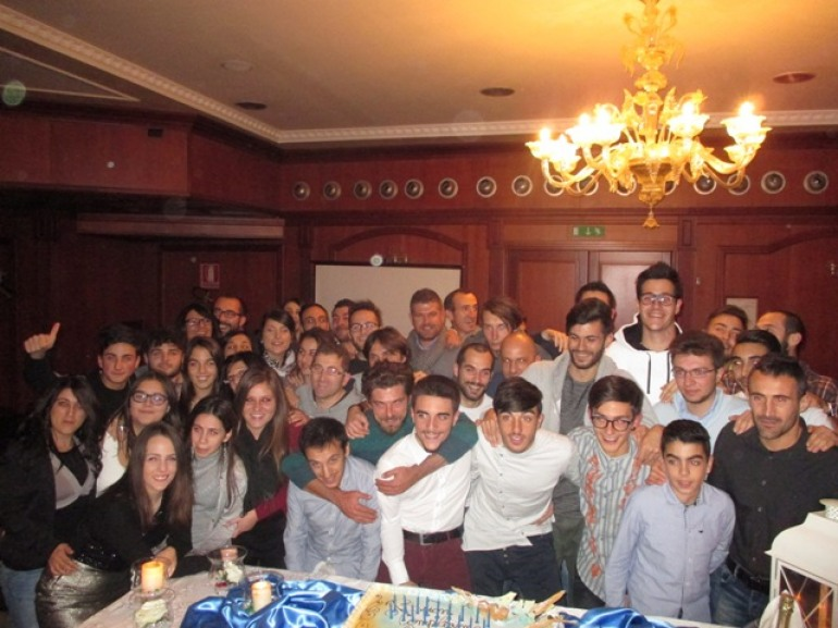 Isernia, superfesta per i 18 anni di Gianmarco Carmosino