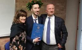 Laurea con lode in scienze e tecnologie agrarie per Giorgio Paglione