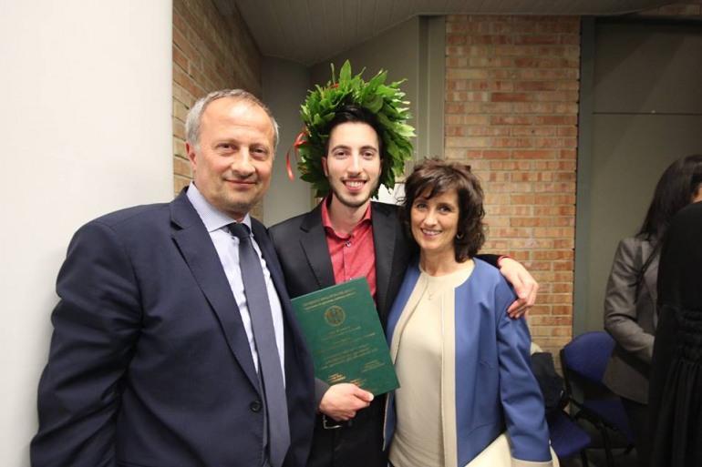 Laurea – Auguri al dott. Giorgio Paglione