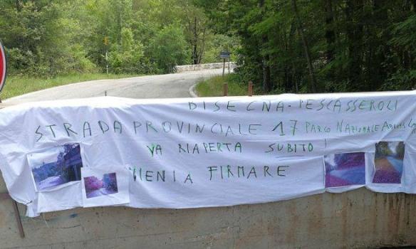 Ponte sul Giovenco, isolati tre comuni del Parco d'Abruzzo: il comitato cittadino invoca l'intervento della politica