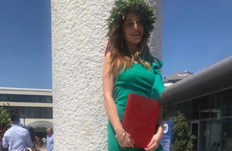 Laurea, auguri alla neo dottoressa Giusy Iaciancio