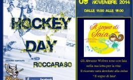 Roccaraso capitale della solidarietà: Hockey day dedicato a Iaia.