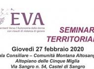 """""""Verso l'autonomia delle donne con vissuti di violenza di genere"""", seminario a Castel di Sangro"""