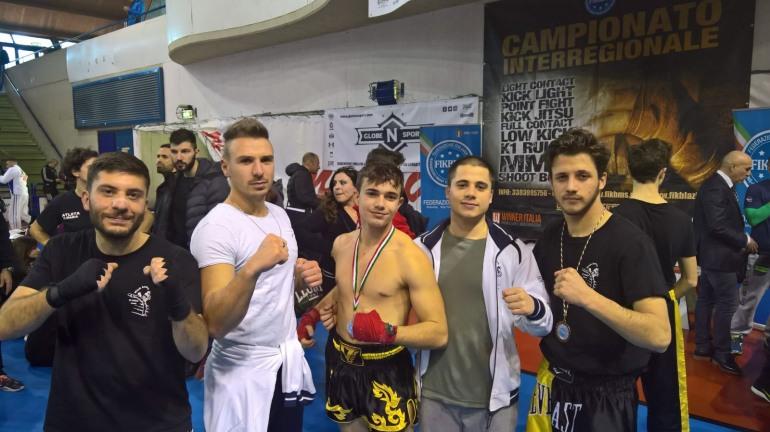 Kickboxing, buona la prestazione del team Di Nino a Genzano