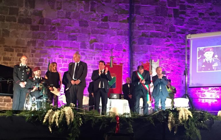 Loreto Di Loreto premiato a Fossacesia: promuove l'immagine dell'Abruzzo nel mondo