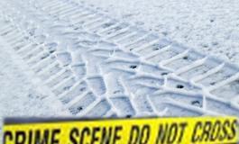 La scena del crimine: Impronte di calzature o di pneumatico sulla neve