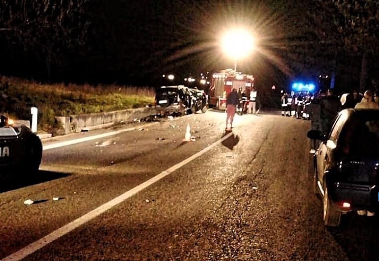Incidente frontale a Pettorano sul Gizio, due vittime di Pescocostanzo