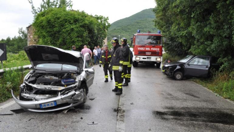 Due castellani coinvolti in un incidente stradale a Montaquila: ricoverati in ospedale