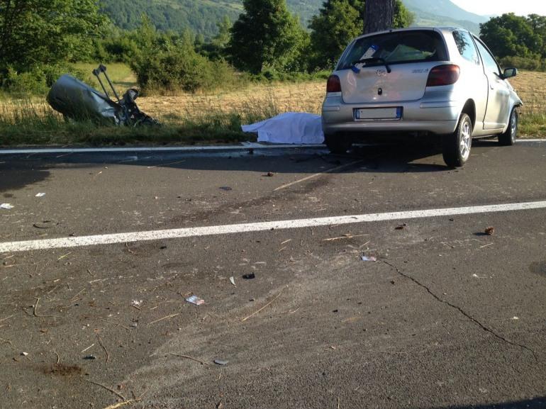 Villa Scontrone, incidente stradale: perde la vita un operaio di Sora