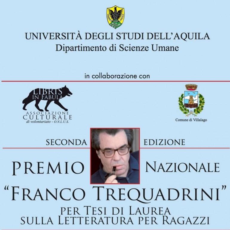 Al via il premio 'Franco Trequadrini', riservato ai laureati