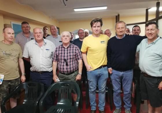 Dall'Irlanda del Nord a Capracotta per deporre una corona in ricordo del soldato David Marshall