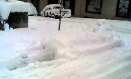 Isernia paralizzata dalla neve - Il Video
