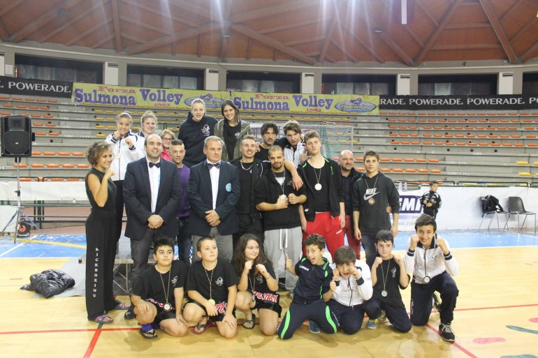 Kick Boxing, Atleti sangrini sul podio a Sulmona