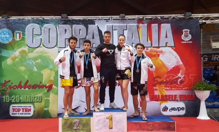 "Kickboxing, Coppa Italia: 3 bronzi per ""Di Nino team"""