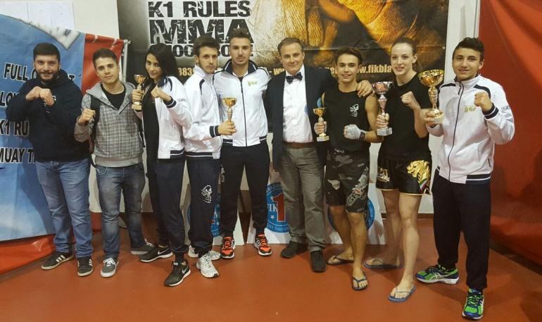Kick light, atleti sangrini sul podio per la qualificazione al campionato italiano