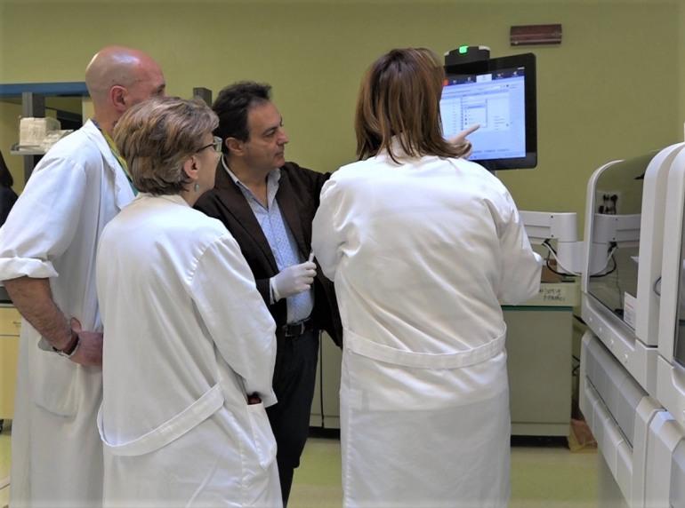 Al Neuromed una nuova strumentazione per il laboratorio analisi