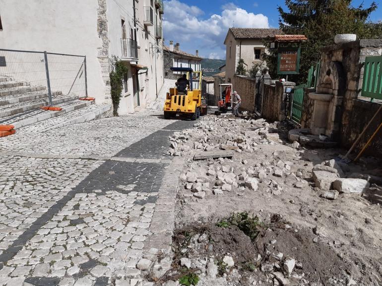 Civitella Alfedena, nel piccolo borgo del Parco azioni a sostegno della ripresa