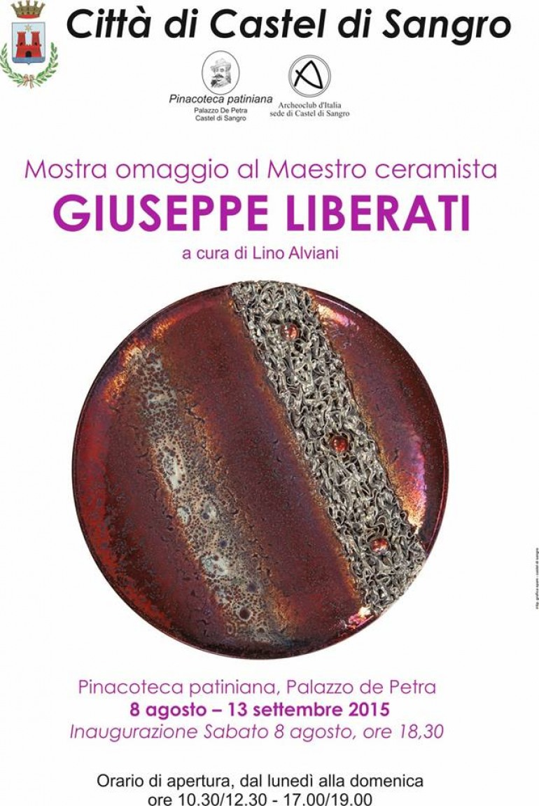 I capolavori del ceramista Giuseppe Liberati approdano a Castel di Sangro