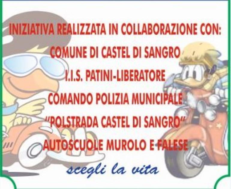 """Progetto """"Sicurezza stradale"""" riservato agli studenti di Castel di Sangro"""