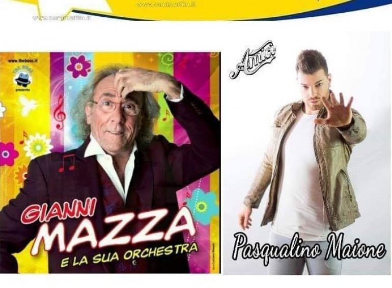 Mazza e Maione, chiudono il cartellone estivo a Villa Scontrone: mercoledì 28 agosto