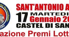 Castel di Sangro, ecco i numeri vincenti della lotteria di S. Antonio Abate